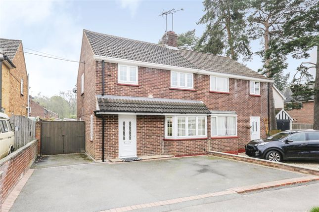 Thumbnail Semi-detached house for sale in College Road, College Town, Sandhurst, Berkshire