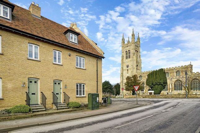 Thumbnail Terraced house for sale in Church Street, Buckden, St. Neots