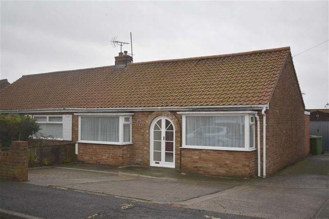 Thumbnail Semi-detached bungalow for sale in Mount Drive, Bridlington