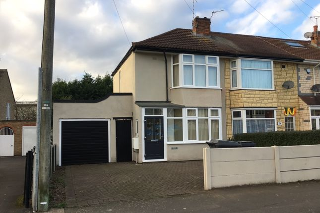 Thumbnail Semi-detached house to rent in Kerrysdale Avenue, Belgrave, Leicester