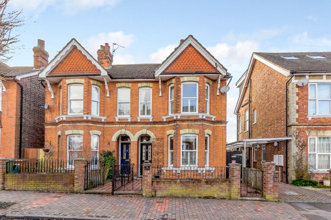 Thumbnail Semi-detached house for sale in Manor Road, Tunbridge Wells