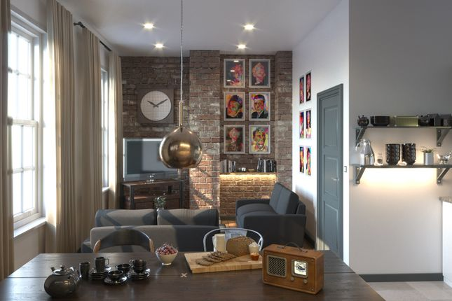 1 bed flat for sale in York Street, Liverpool
