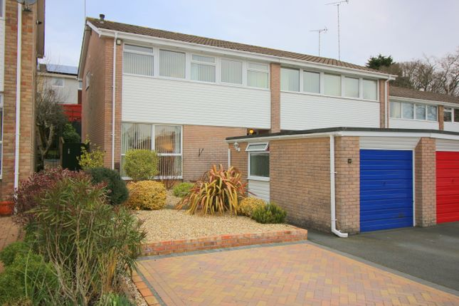 Thumbnail Semi-detached house for sale in Russell Close, Saltash