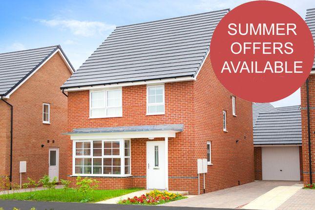 "Thumbnail Detached house for sale in ""Chesham"" at Weddington Road, Nuneaton"