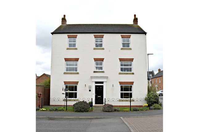 Thumbnail Detached house for sale in Blakeman Way, Lichfield