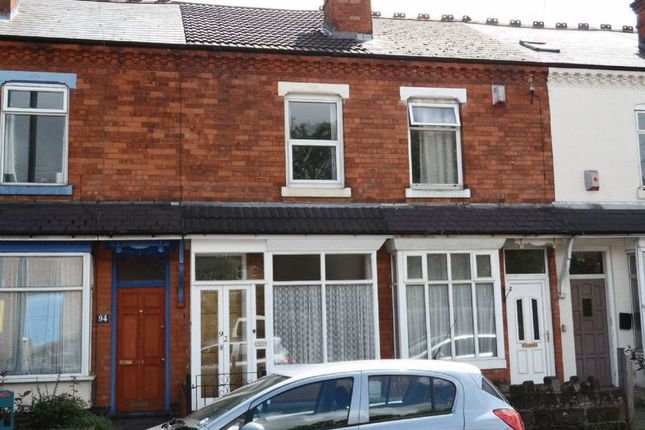 Thumbnail Terraced house to rent in 92 Addison Road, Kings Heath, Birmingham