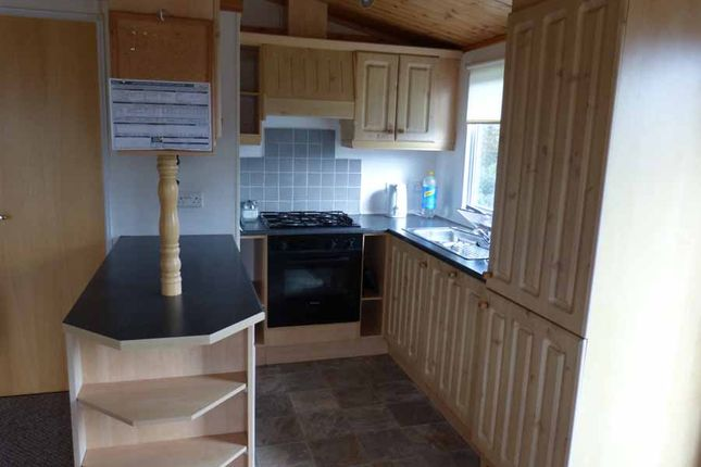 Kitchen of Gnome World Holiday Park, Indian Queens TR9