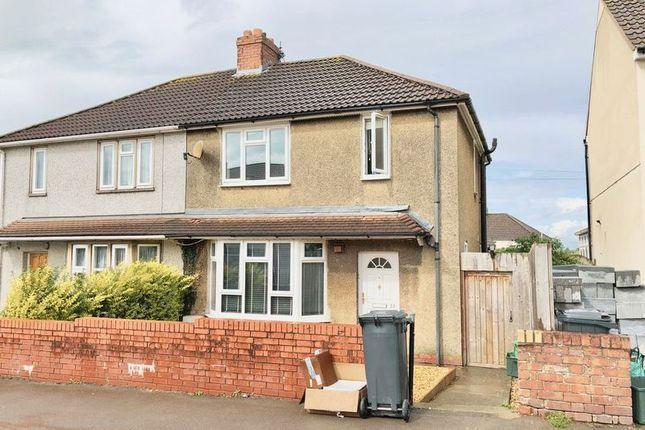 Thumbnail Semi-detached house to rent in Greenbank Road, Hanham, Bristol
