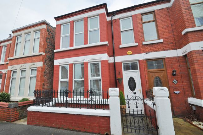 Thumbnail Semi-detached house to rent in Ellesmere Grove, Wallasey