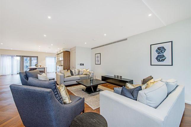 Thumbnail Flat to rent in Capital Building, Embassy Gardens, Nine Elms, London