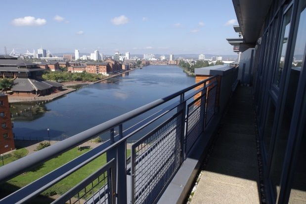 Thumbnail Flat to rent in Galleon Way, The Water Quarter, Cardiff Bay