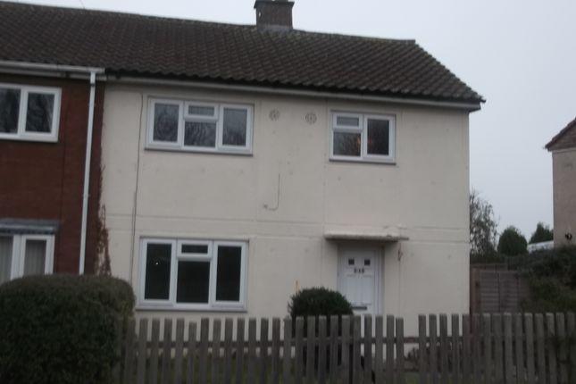 Thumbnail Semi-detached house to rent in Kitwood Avenue, Dordon, Tamworth