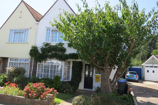 Thumbnail Semi-detached house for sale in Greenways Crescent, Shoreham-By-Sea