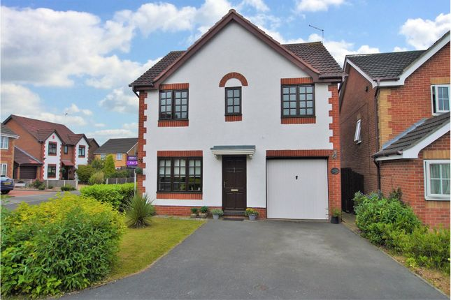Thumbnail Detached house for sale in Goldcrest Rise, Gateford, Worksop