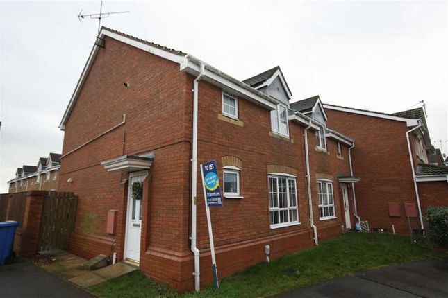 Thumbnail Terraced house to rent in Cromwell Road, Leaf Sail Farm, Hedon
