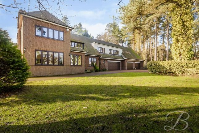 Thumbnail Detached house for sale in Nottingham Road, Ravenshead, Nottingham