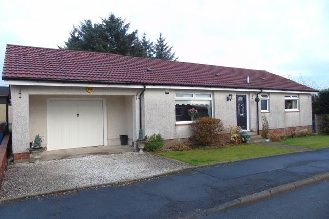 Thumbnail Detached bungalow for sale in Roadside Place, Greengairs, Airdrie, North Lanarkshire