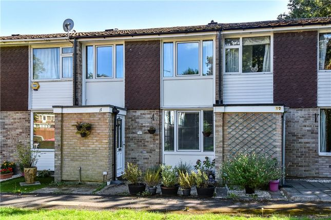 Thumbnail Terraced house for sale in Maple Close, Blackwater, Surrey