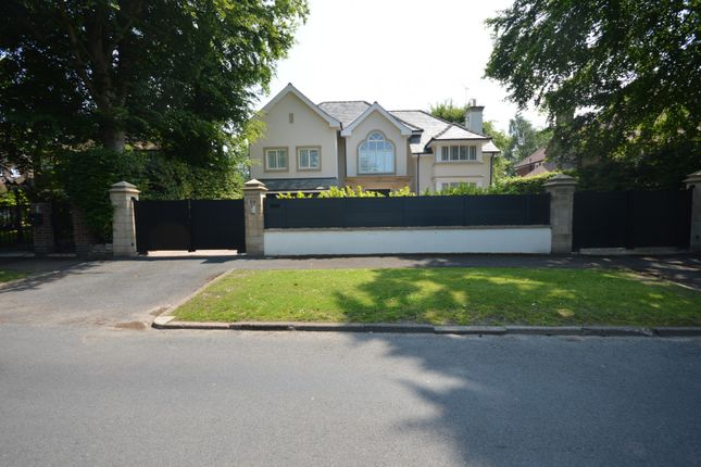 Thumbnail Detached house to rent in Bow Green Road, Bowdon, Altrincham