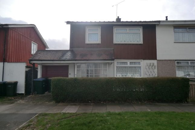 Thumbnail Semi-detached house to rent in Founder Close, Canley, Coventry
