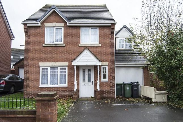 Thumbnail Detached house for sale in Narel Sharpe Close, Smethwick