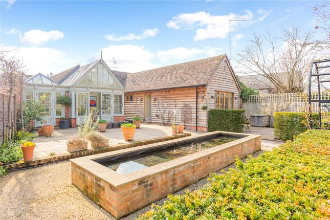 Thumbnail Detached bungalow for sale in Ferry Road, South Stoke, Reading