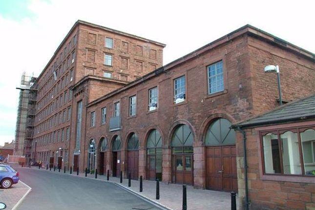 Thumbnail Flat to rent in Shaddon Mill, Shaddongate, Carlisle