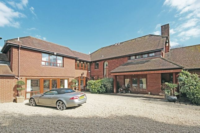 Thumbnail Detached house for sale in Armstrong Road, Brockenhurst