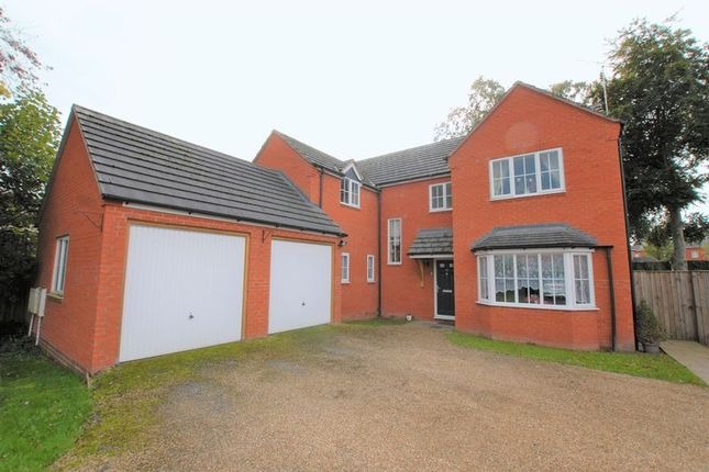 Thumbnail Detached house for sale in Dove Walk, Uttoxeter
