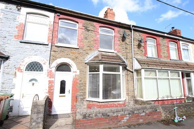 Thumbnail Terraced house to rent in Coedcae Road, Abertridwr, Caerphilly