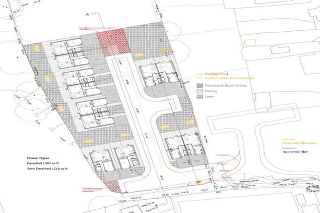 Thumbnail Land for sale in Paradise Street, Hadfield, Glossop
