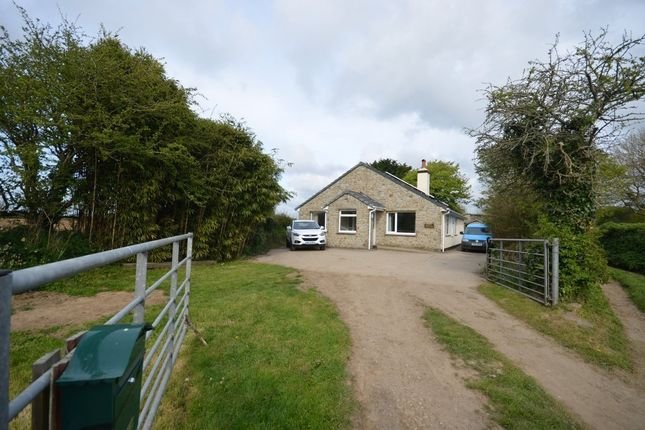 Thumbnail Detached bungalow for sale in Howe Downs, Praze, Camborne