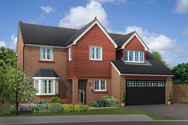 "Thumbnail Detached house for sale in ""Chesham"" at Boundary Park, Parkgate, Neston"
