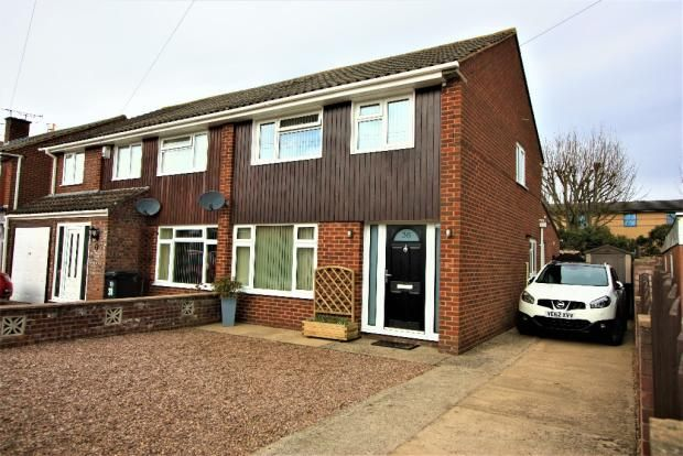 Thumbnail Semi-detached house for sale in Materman Road, Stockwood