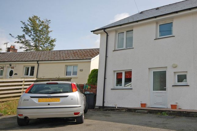 Thumbnail Semi-detached house to rent in Maesyrawel, Ponterwyd, Aberystwyth
