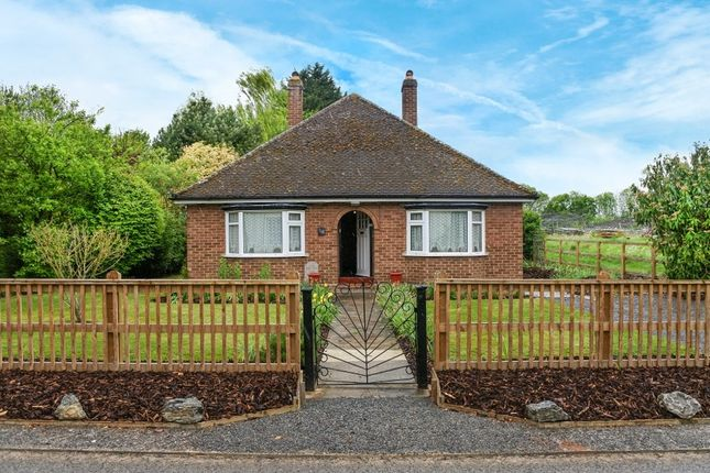 Thumbnail Detached bungalow to rent in High Street, Guilden Morden, Royston