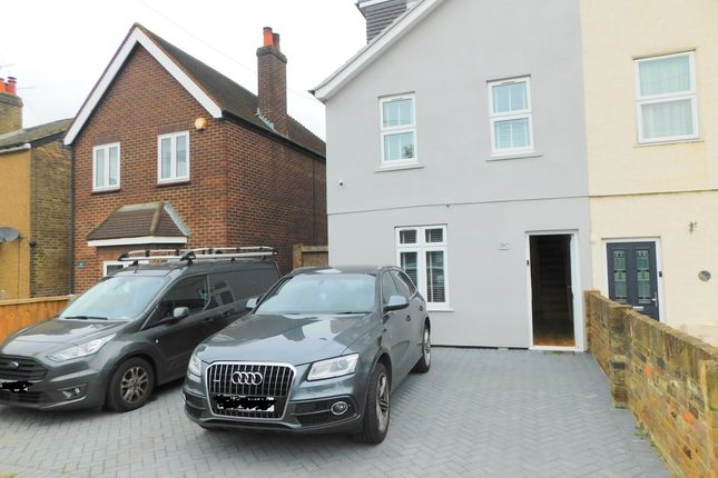 Thumbnail End terrace house to rent in Staines Road West, Ashford