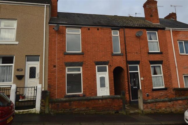 Thumbnail Terraced house to rent in Higher Albert Street, Chesterfield