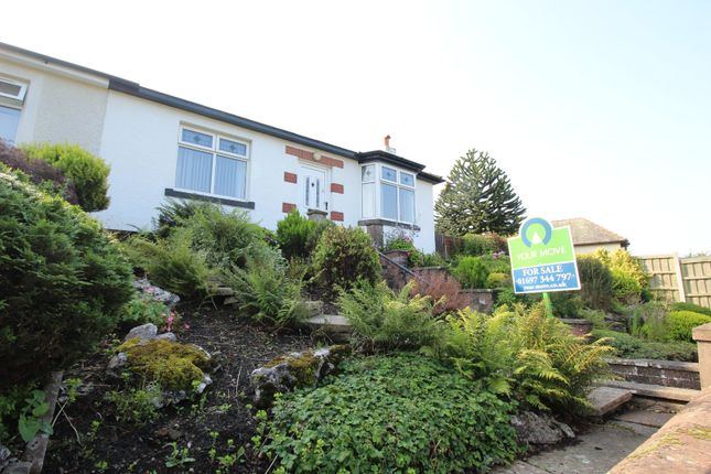 Thumbnail Bungalow for sale in West Road, Wigton, Cumbria