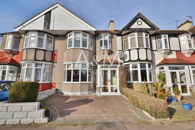 Thumbnail Terraced house for sale in Aintree Crescent, Ilford