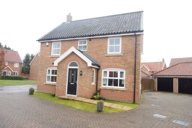 Thumbnail Detached house for sale in Mckee Drive, Tacolneston, Norwich