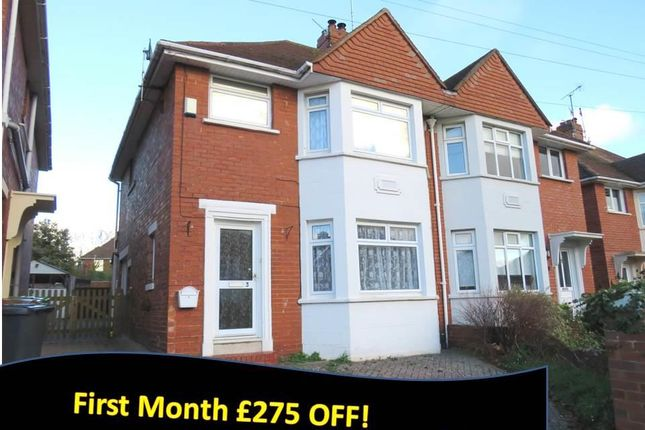 Thumbnail Property to rent in Egham Avenue, St. Leonards, Exeter