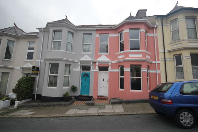 Thumbnail Terraced house to rent in Anson Place, St Judes, Plymouth