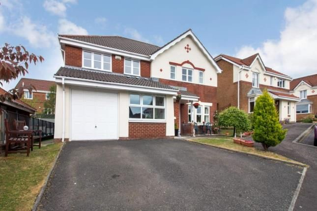 Thumbnail Detached house for sale in Ratho Drive, Carrickstone, Cumbernauld, North Lanarkshire