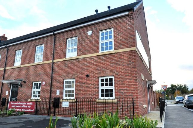 Thumbnail End terrace house to rent in Priory Road, Beverley