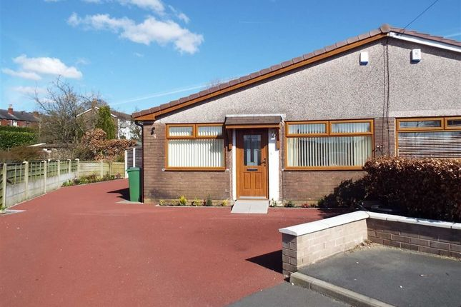 Thumbnail Semi-detached bungalow to rent in Shepherds Close, Greenmount, Bury