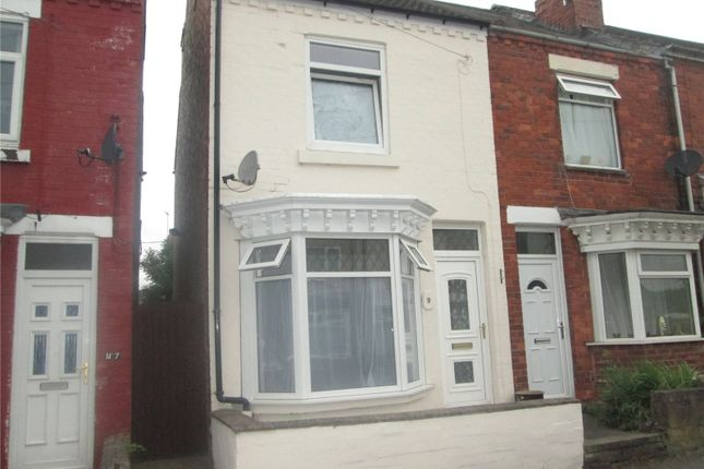 Thumbnail End terrace house to rent in Queen Street, Creswell, Nottinghamshire