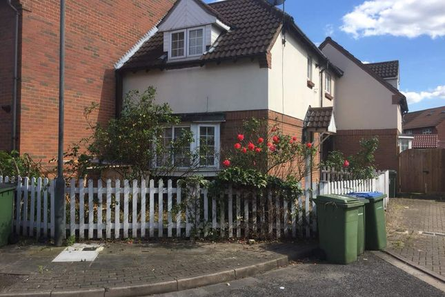 Thumbnail End terrace house for sale in Nickelby Close, London
