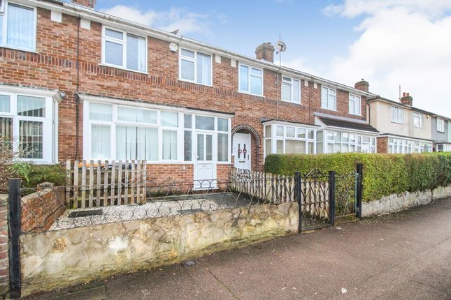 Thumbnail Terraced house to rent in Oak Road, Bedford