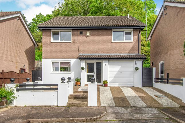 Detached house for sale in Kestrel Close, Cardiff